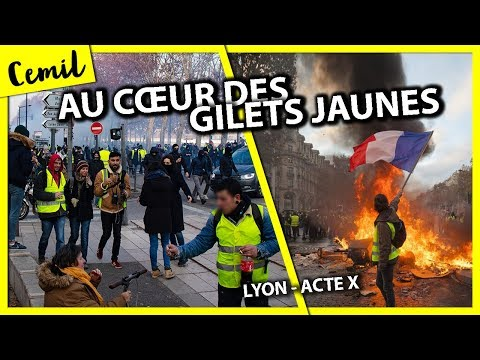 PAROLES DE GILETS JAUNES - ACTE 10 (Lyon)