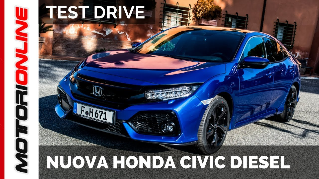 nuova honda civic my 2018 1 6 i dtec diesel 120 cv. Black Bedroom Furniture Sets. Home Design Ideas