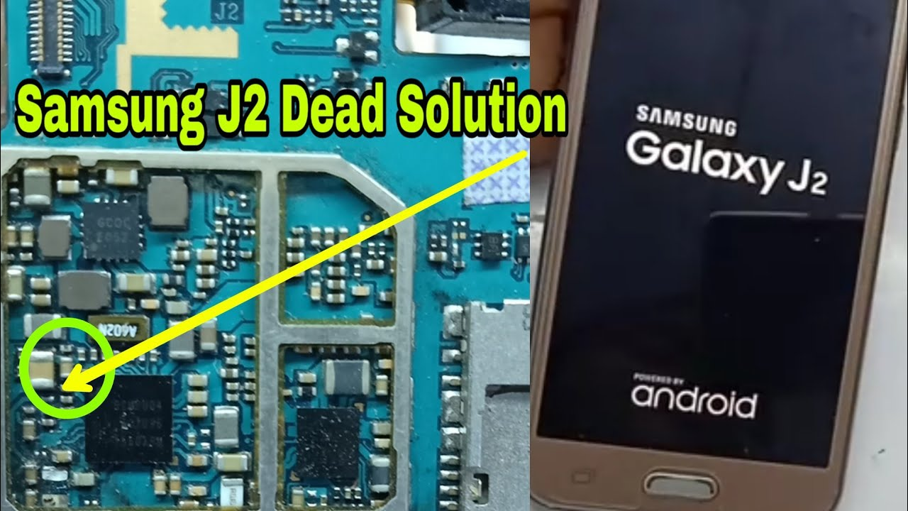 Samsung j2 display ic