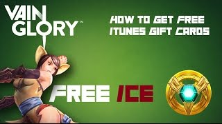 Vainglory - How to get free Itunes Gift Cards for ICE!