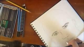 Shemar Moore Speed Drawing