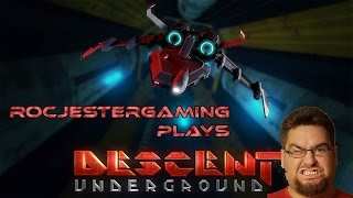 DESCENT UNDERGROUND - FIRST IMPRESSIONS/PC GAMEPLAY - RoCJesterGaming
