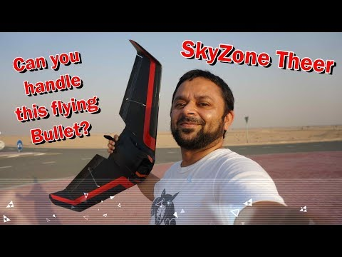 Skyzone Theer FPV Racing Wing Super Fast Maiden Flight