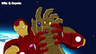 Thanos Pierde el Guantelete Infinito ♦ Los Vengadores Unidos T02E13 ♦ Español Latino