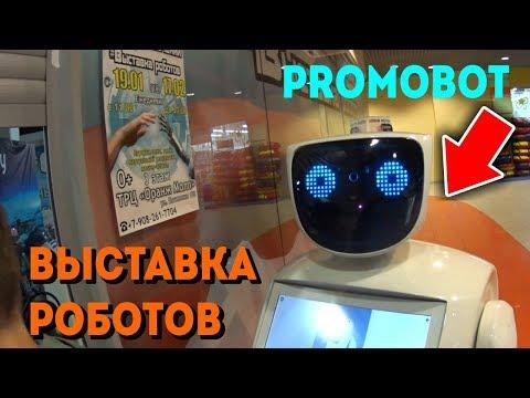 выставка роботов цена, билеты на выставку роботов,российский робот промобот