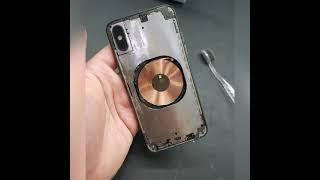 아이폰XS 뒷유리 파손 교체