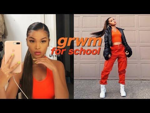 MY FIRST DAY OF SCHOOL GRWM + VLOG // Koleen Diaz