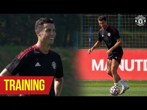 Cristiano Ronaldo's return to Carrington |  Training |  Manchester United v Newcastle United