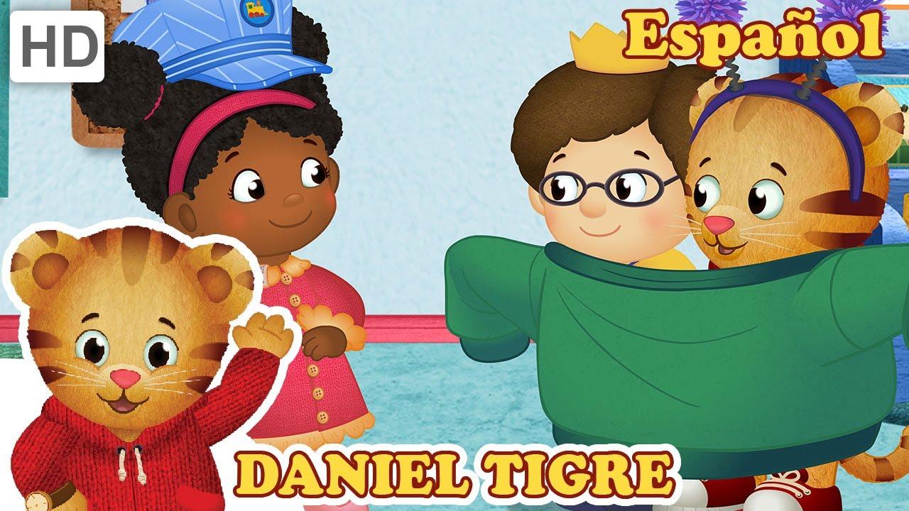 Daniel Tigre en Español - Arreglando a Trolebús y Daniel, el arregla-todo (Episodios Completos)