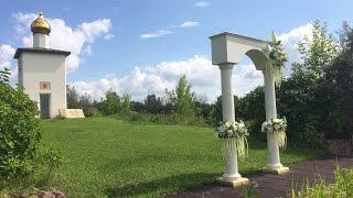 Как сделать свадебную арку из дерева