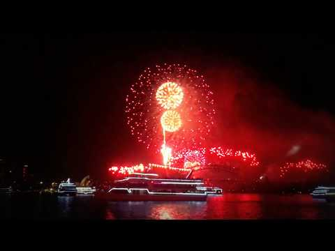 Sydney Harbour New Year's Eve Cruise 2017