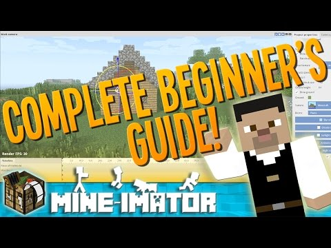 A Beginner's Guide to Animating with Mine-imator! - Mine-imator Tutorial | 1