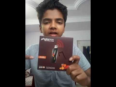 Unboxing Tata Photon WiFi