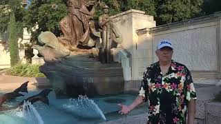 Live with the Curator at Littlefield Fountain
