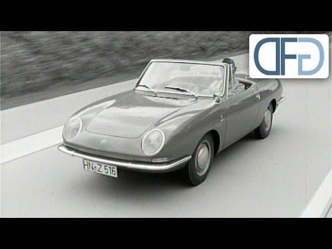IAA 1965 - Fiat 850 Spider | Opel Rekord B | Peugeot 204 | Audi F103 | VW 1600 TL