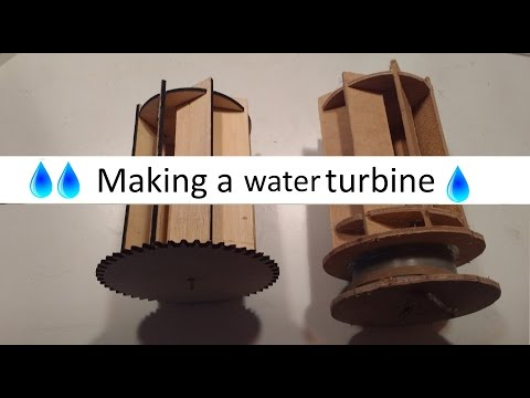 Making a water turbine [Prototyping V1 & V2]