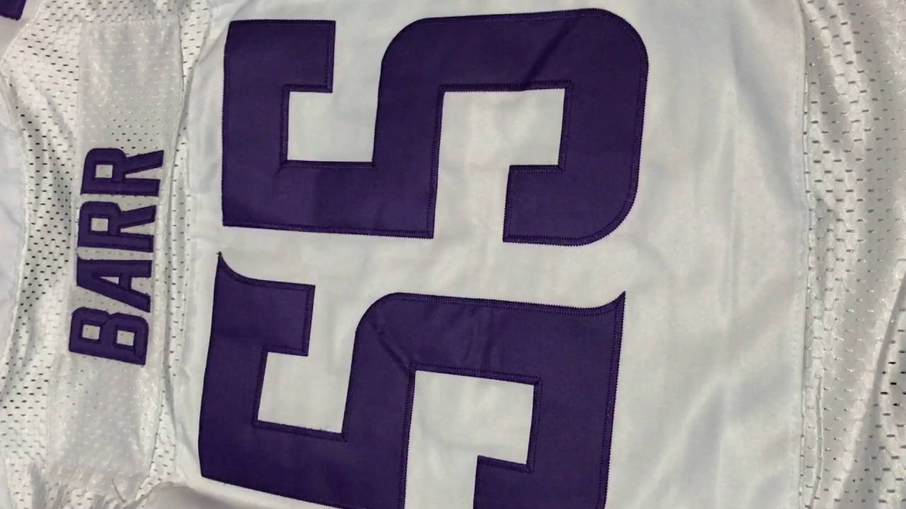 low priced 1f2fc 66173 Harrison Smith and Anthony Barr jersey review