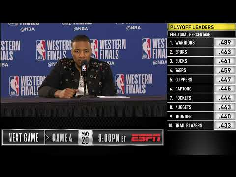 Damian Lillard Press Conference | Western Conference Finals Game 3