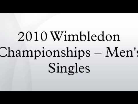 2010 Wimbledon Championships – Men's Singles