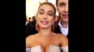 Shawn Mendes & Hailey Baldwin On Met Gala