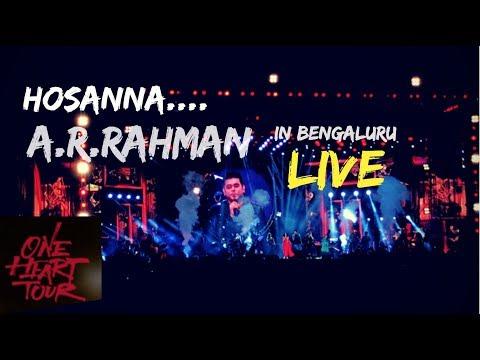 Hosanna Song Live By Vijay Prakash