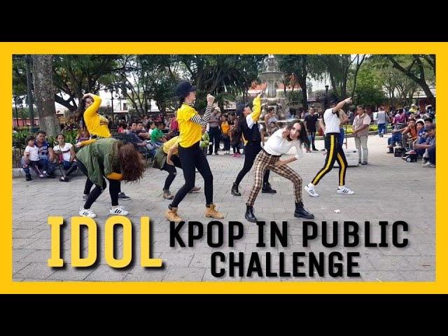 Vlliongt Kpop In Public Challenge Guatemala Bts Idol Dance Cover