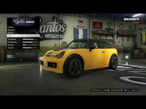 Customizing Tracys Car - GTA 5