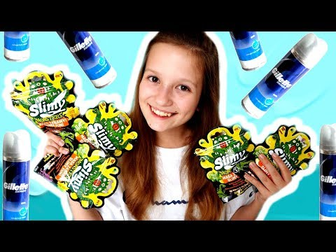 OTWIERAM SLIMY MONSTERS + test slime z pianką do golenia ❤ CookieMint