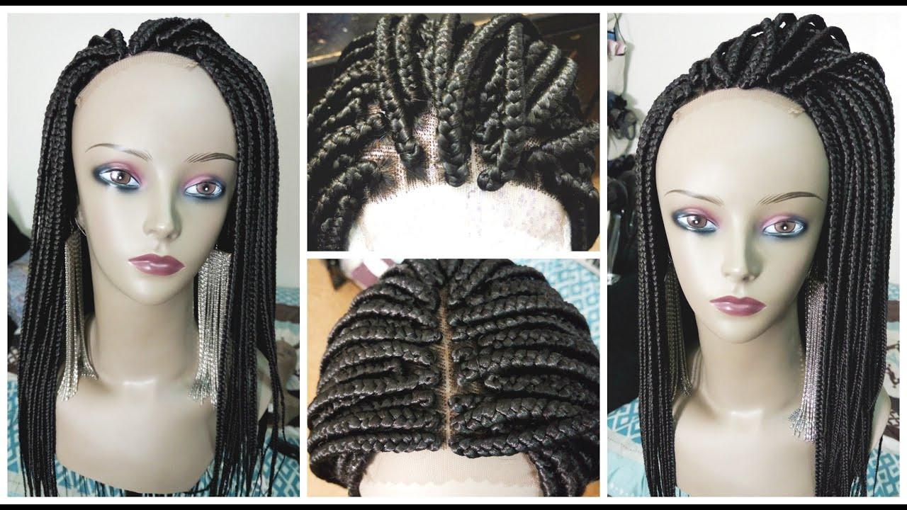 small box braid wig