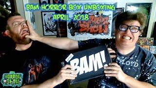 BAM Horror Box Unboxing - April 2018 - The Horror Show