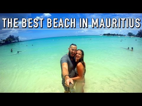 THE BEST BEACH IN MAURITIUS!!   Mauritius On A Budget #5