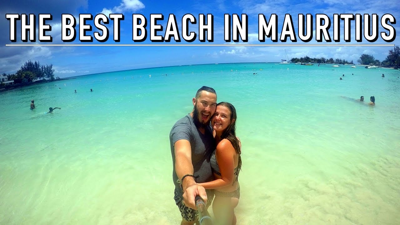 the best beach in mauritius mauritius on a budget 5 youtube