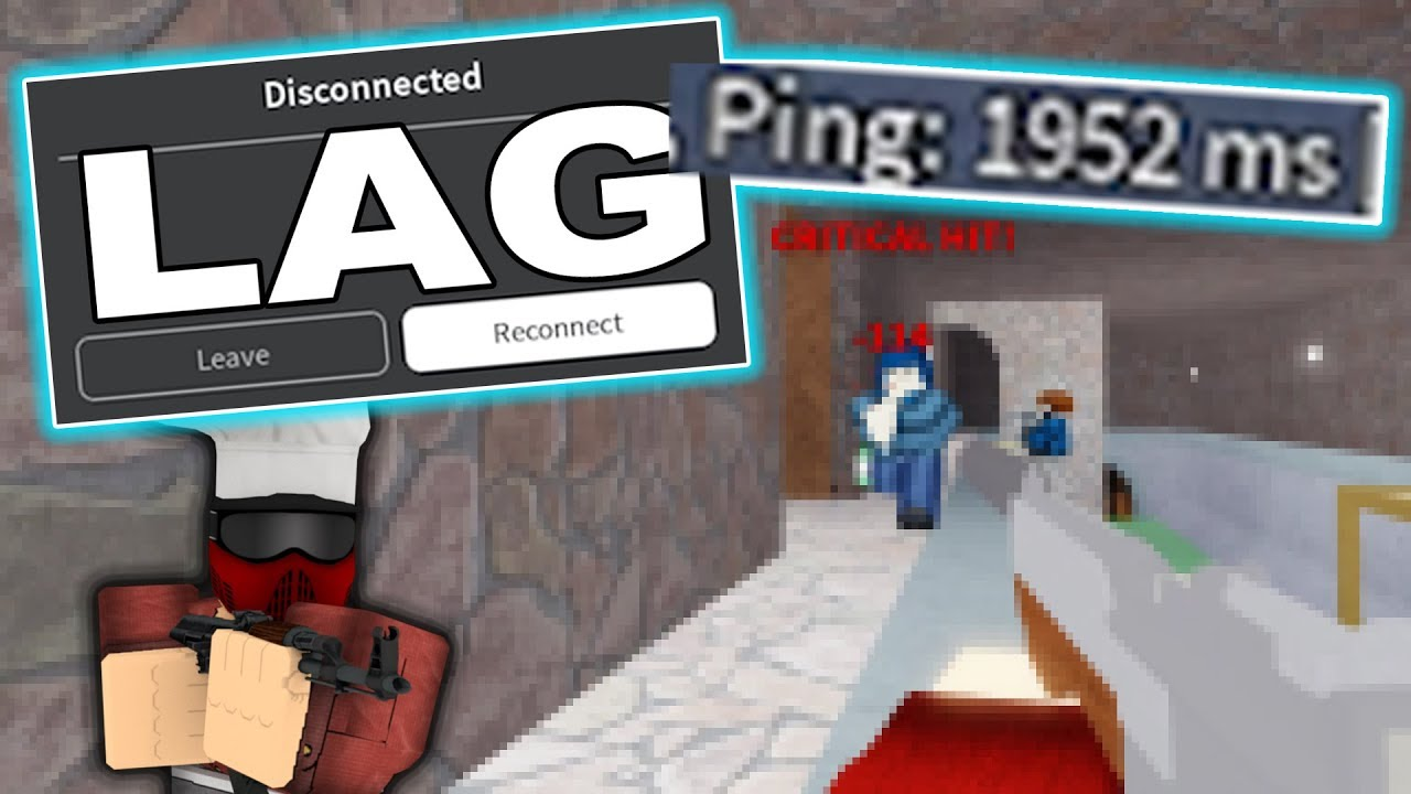 Arsenal But I Lag Every 5 Seconds ROBLOX YouTube