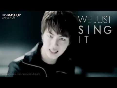 MASHUP 방탄소년단 BTS All In One MASHUP 9 songs in 1