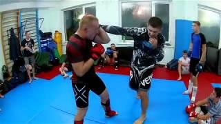 Тренировка по MMA обучающие видео отрабатываем приемы часть 3