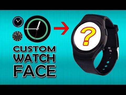 Custom Smartwatch Face (Video) [Gearbest]