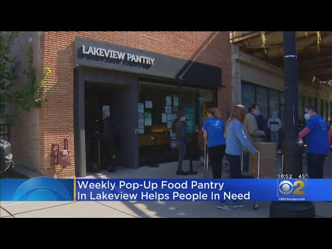 Pop-Up Food Pantry Finds Permanent Home In Lakeview