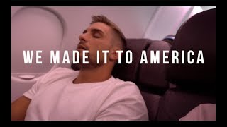 WE MADE IT TO AMERICA!