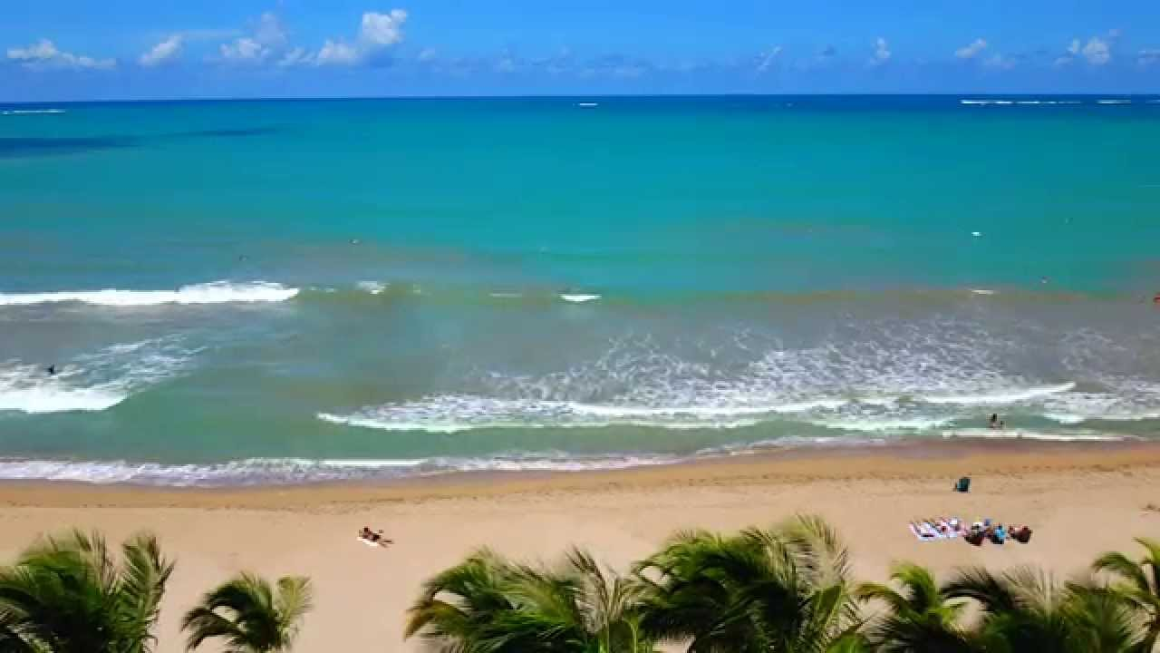 Isla Verde Beach San Juan Puerto Rico