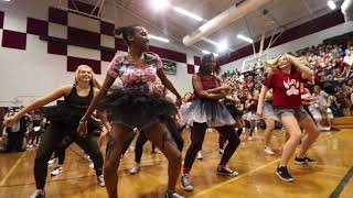 2017-2018 Chiles Boys VS Girls Pep Rally Dance Off (unedited)
