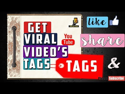How to get Youtube tags of other videos    No extra software required   Google chrome   by alluuneed