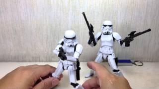 Штурмовик Зоряних воєн чорної серії 6 дюймів малюнок іграшка огляд
