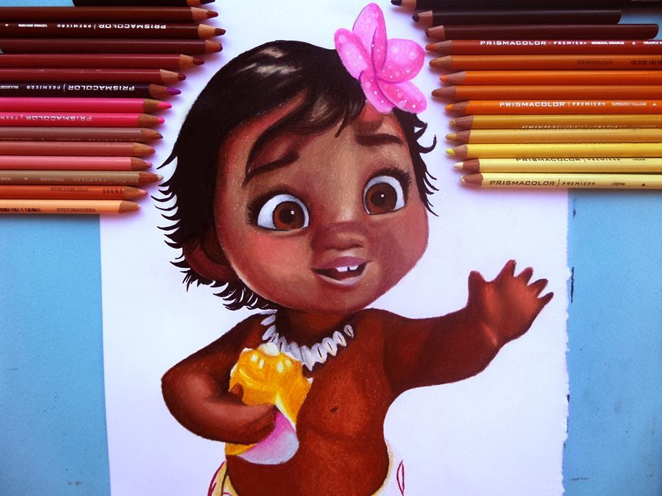 Cute Snapchat Wallpapers Baby Moana Speed Drawing Youtube