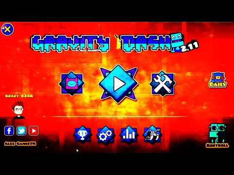 Geometry Dash Gravity Dash 2.11Texture Pack [2.11]