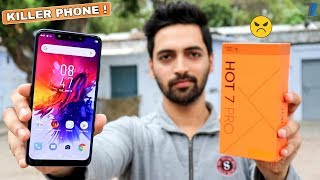 Infinix Hot 7 Pro Unboxing & Hands On | 6GB Ram | Quad Camera | For Rs 8,999 Only !🔥