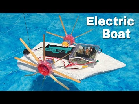 How to Make a Simple RC Boat with Double Engine - Amazing idea