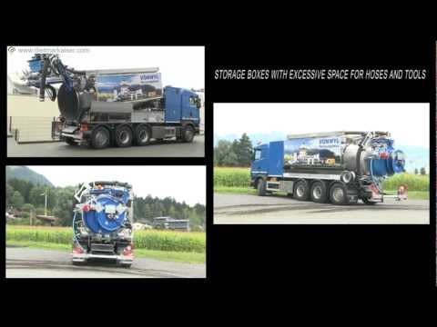 Dietmar Kaiser AG: Dyna Combi Sewer Cleaning Truck