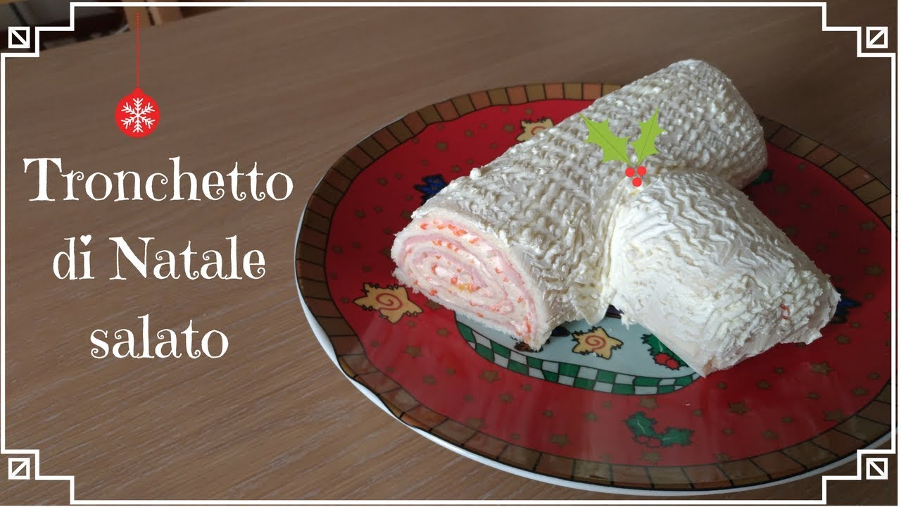Tronchetto Di Natale Leggero.Tronchetto Di Natale Salato Facilissimo E Buonissimo