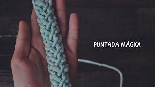 PARECE MACRAMÉ, pero es crochet | Cordón Rumano Variación
