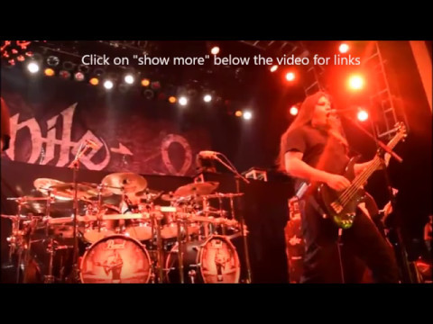 Nile in studio - Taproot play new song No One Else To Blame live - new I Declare War video!